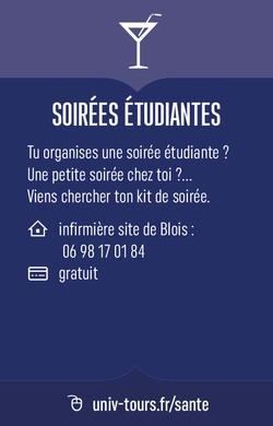 Soirées étudiantes Blois