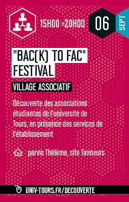 Village associatif Bac(k) to fac festival