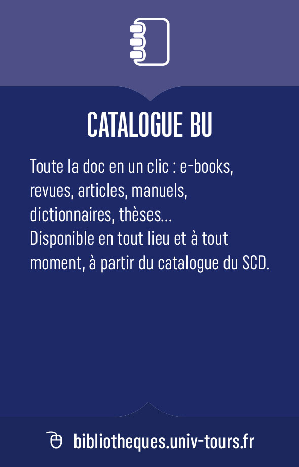 Catalogue BU