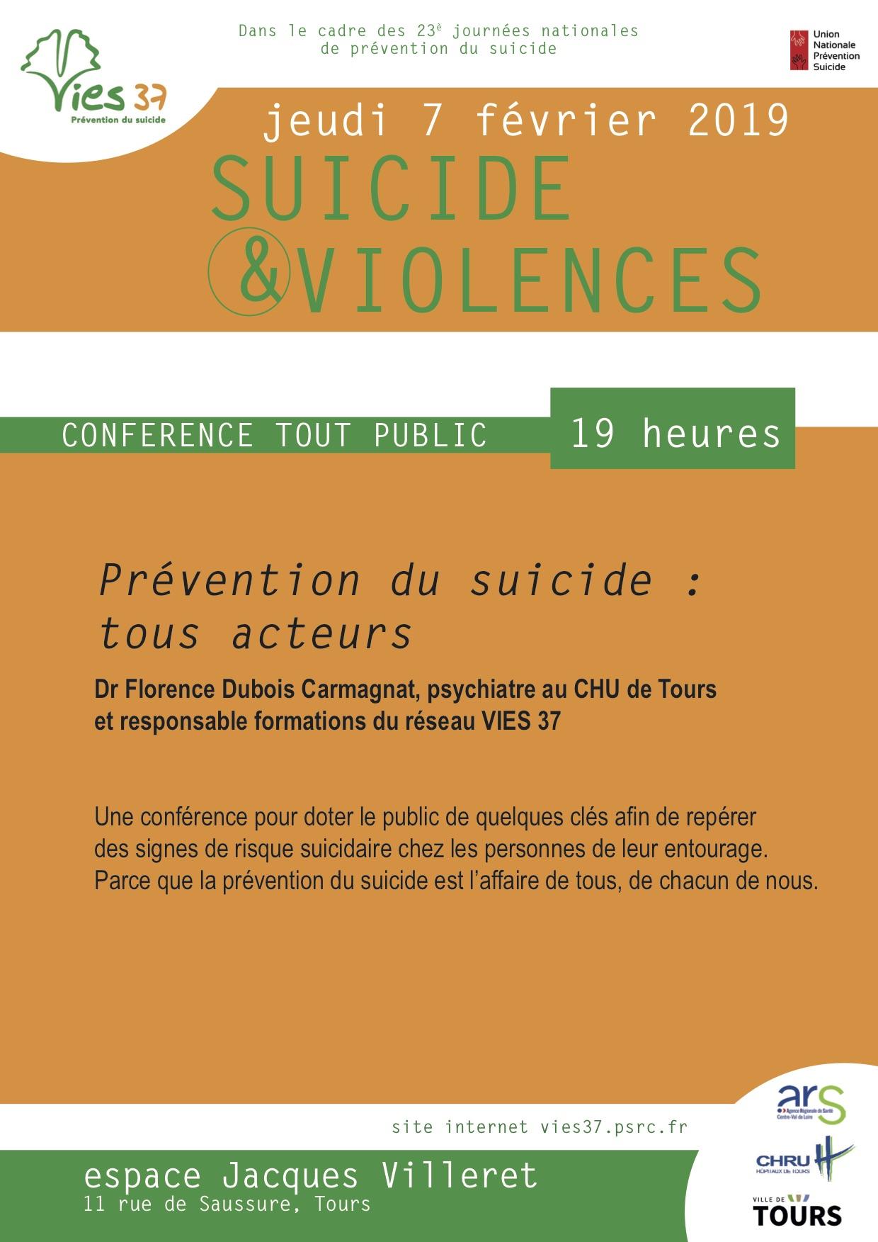 Suicide & violences, vies37