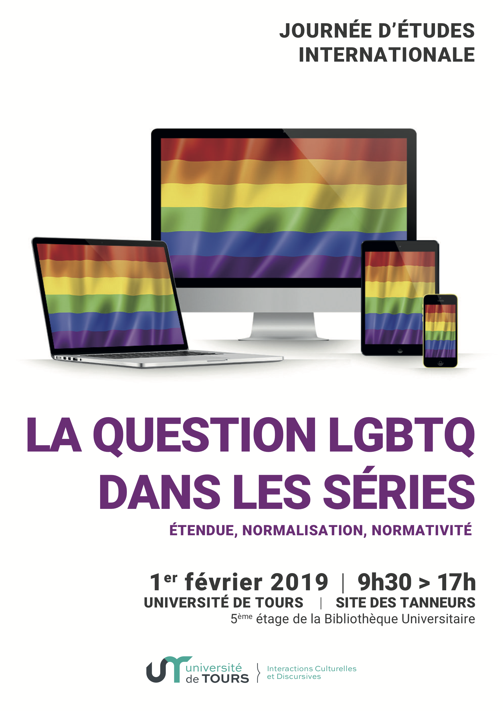 "Journée d'étude internationale "" La question LGBTQ dans les séries"""