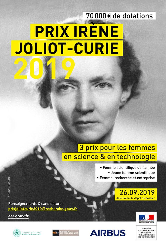 18e édition du Prix Irène Joliot-Curie