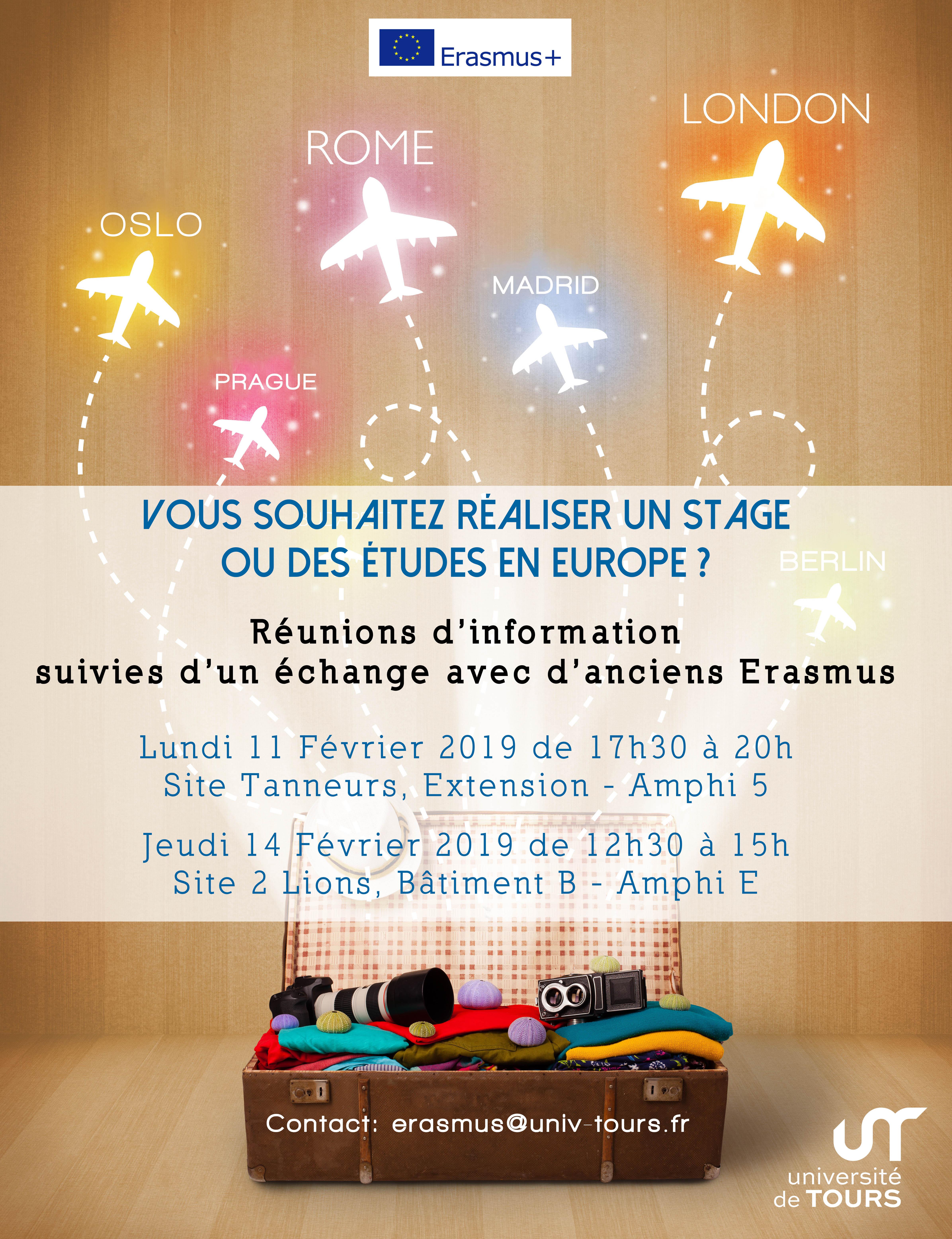 Affiche Erasmus +