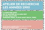 Seminaire Annees 80
