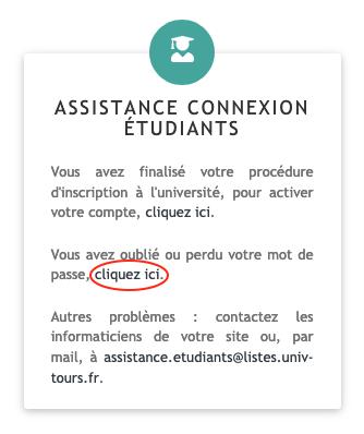 ENT Assistance etu