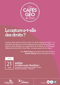 Café Géo : la nature a t elle des droits