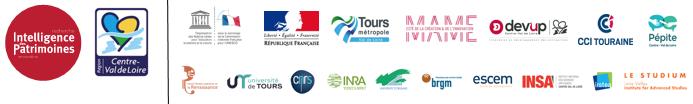 Logos des partenaires du Smart Tourisme Lab