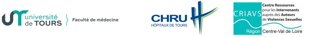 logos université de Tours, CHRU de Tours, CRIAVS