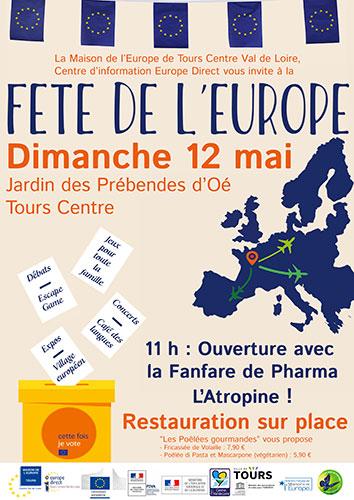 Fête de l'Europe le dimanche 12 mar