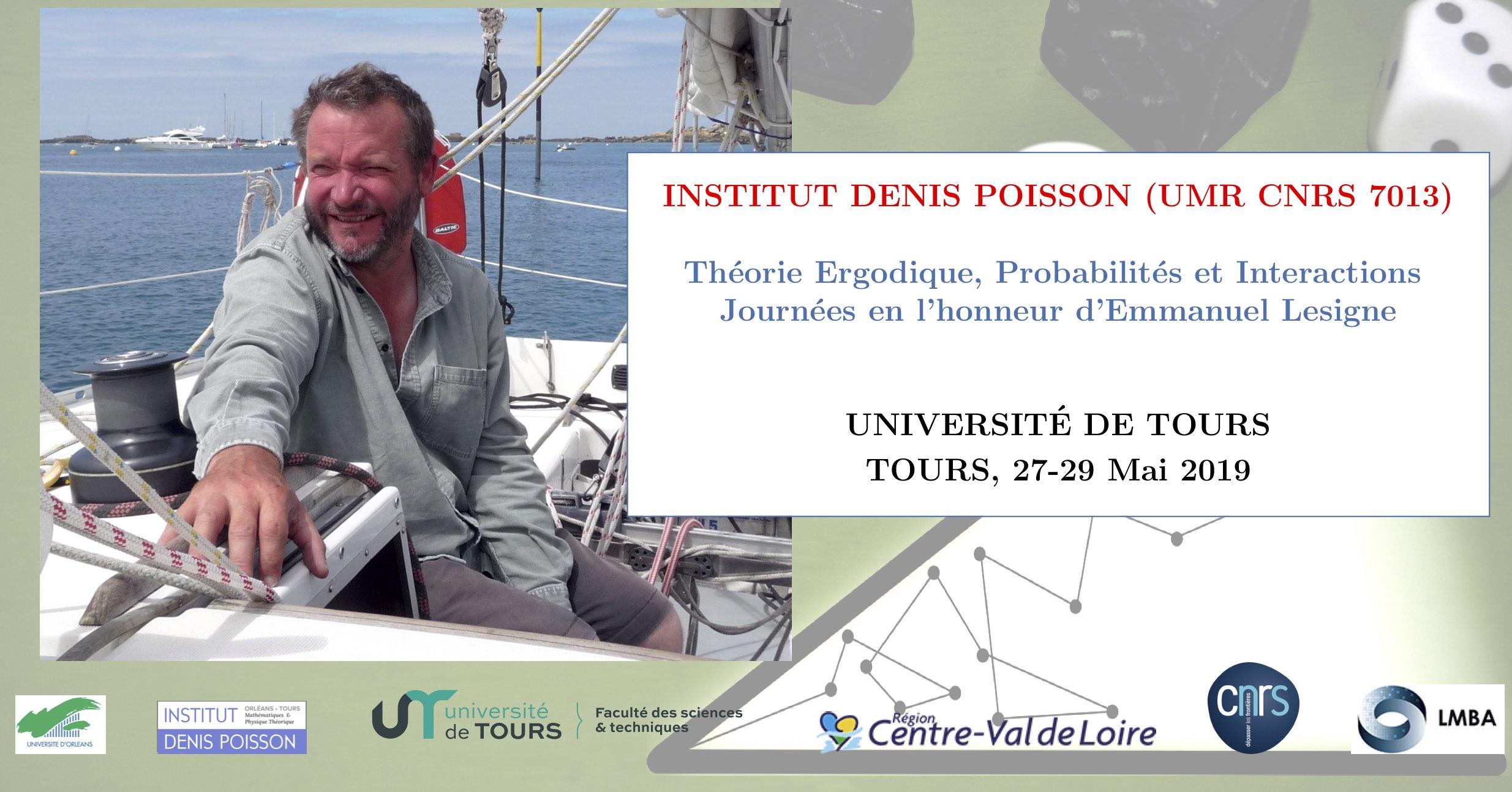 Théorie Ergodique, Probabilités et Interactions, Journées en l'honneur d'Emmanuel Lesigne