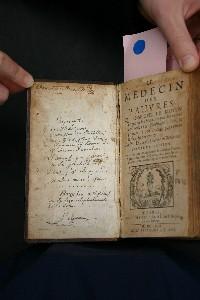 BU Médecine - livre ancien