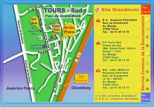 Plan SCD - Site Grandmont
