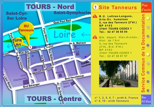 Plan SCD - site Tanneurs