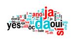 Oui dans toutes les langues, nuage de mots © Delphimages