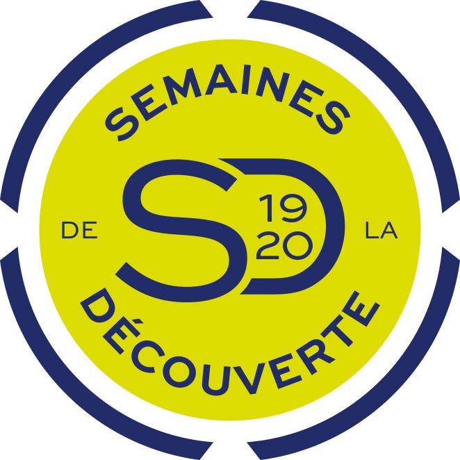 Logo semaines de la découverte