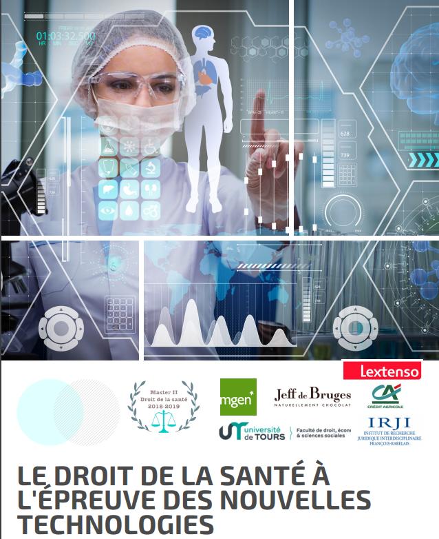 Affiche et programme Le droit de la santé à l'épreuve des nouvelles technologies