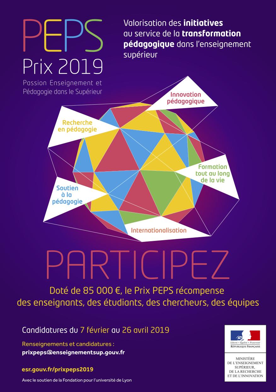 PEPS Prix 2019