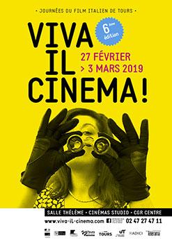 viva il cinema affiche avec partenaires